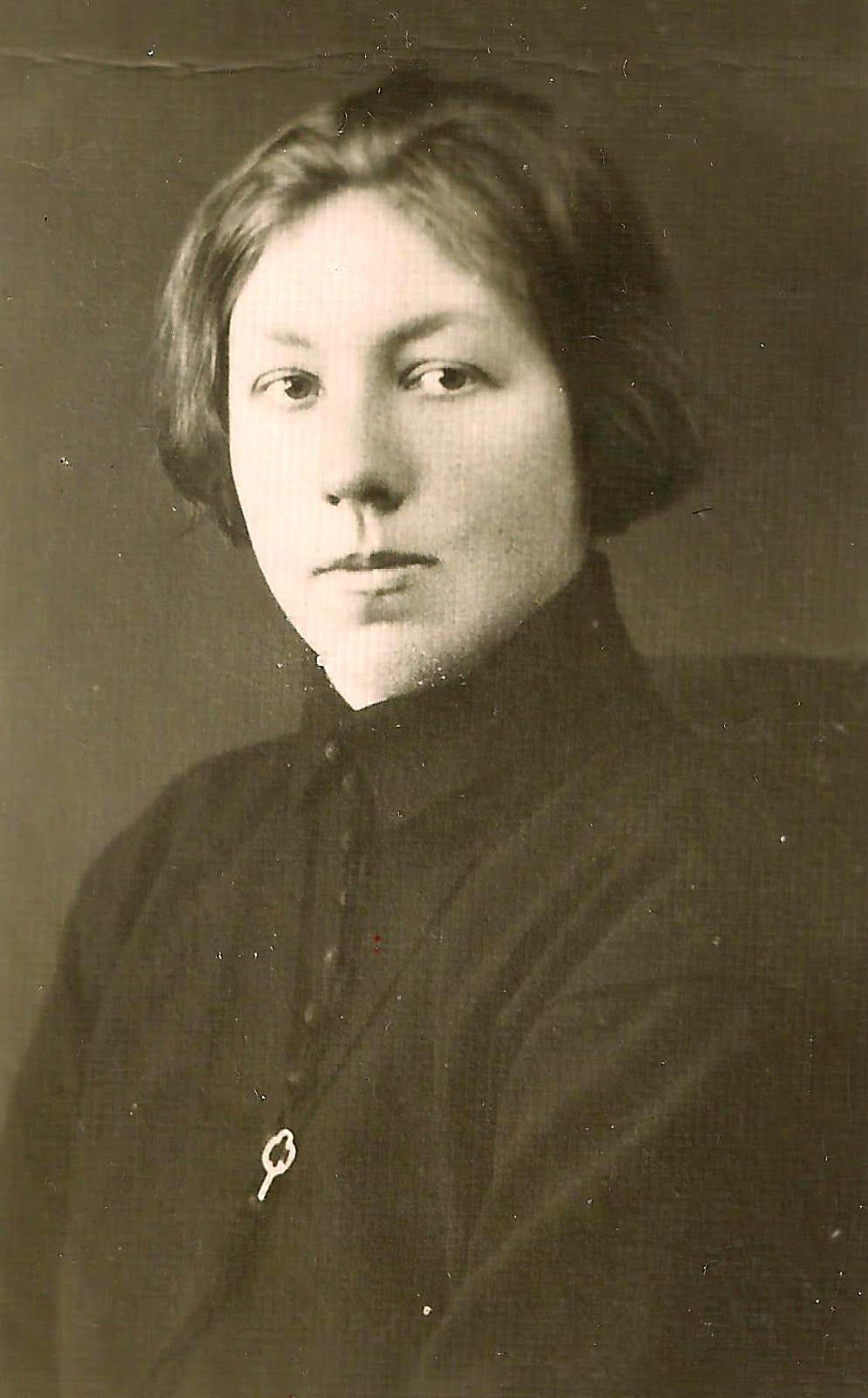 Erna Murevska ( 1902 - 1928 ? ) . Dzejniece un Vasku skolas skolotāja