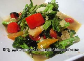 Resep Tumis Brokoli Saus Tiram