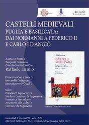 Castelli Medievali presentazione a cura di Antonella Colaninno