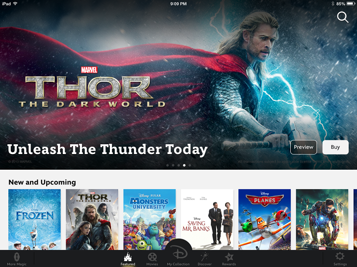 Disney Movies Anywhere – Watch Your Disney, Pixar and Marvel Movies! iTunes Free App By Disney