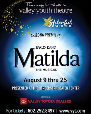 THIS MONTH'S SITE SPONSOR: Valley Youth Theatre presents...
