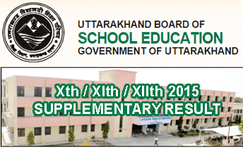 Uttarakhand Board 10th Supplementary Result 2015 will be announce through online at uaresults.nic.in Xth XIth XIIth Supplementary Results 2015, UK Board 10 Result 2015, UK Board Secondary Exam Result 2015, Uttarakhand 12th Supplementary Result 2015, UK Xth Re-Appeared Compartment Result 2015
