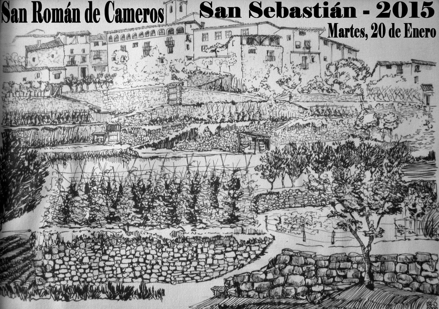 San Román de Cameros. San Sebastián 2015.