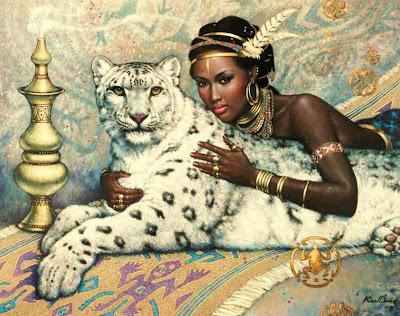retratos-femeninos-con-animales-salvajes
