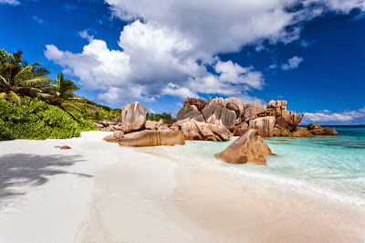 La Digue Island Beach Seychelles