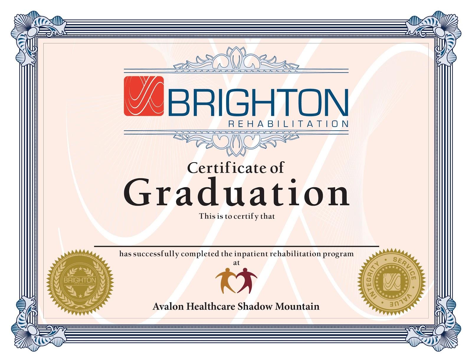 Graduation Certificates Travis Alexander Portfolio