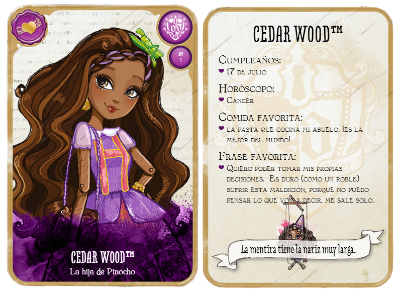 Happily Ever After High Personajes