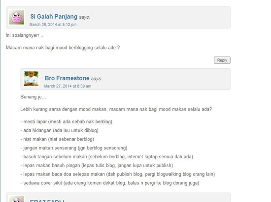 Kata-Kata Blogger Mahu Berjaya