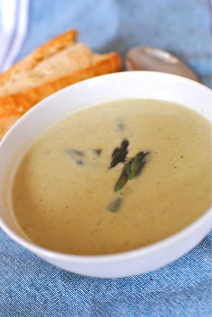 sparris, soppa, sparrissoppa, per morberg, recept