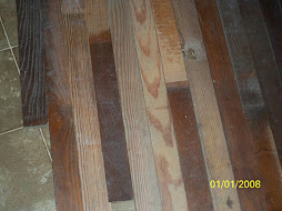 900 sq. ft. heart of pine flooring from Wilmington NC area - SOLD!