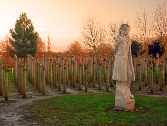 Shot at Dawn, British Army executions, Private Herbert Burden, Armistice Day, shell-shock victims, Andy DeComyn, places to visit in Staffordshire