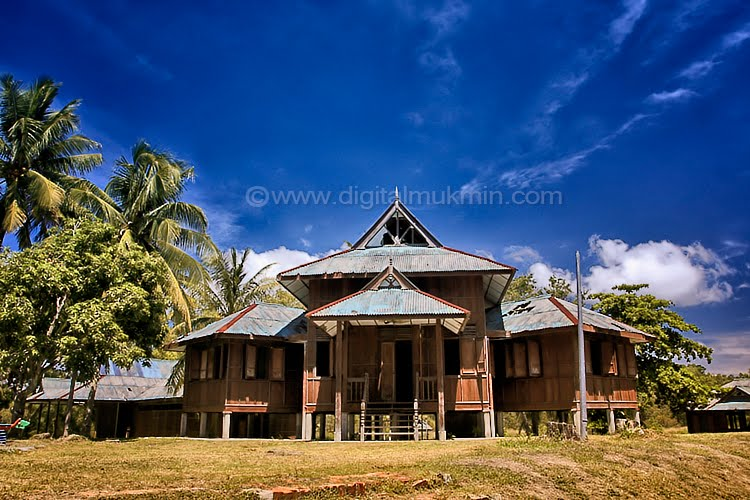 Download this Rumah Tradisi Riau Selaso Jatuh Kembar picture