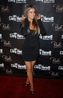 Carmen Electra at the Crazy Horse III red capet