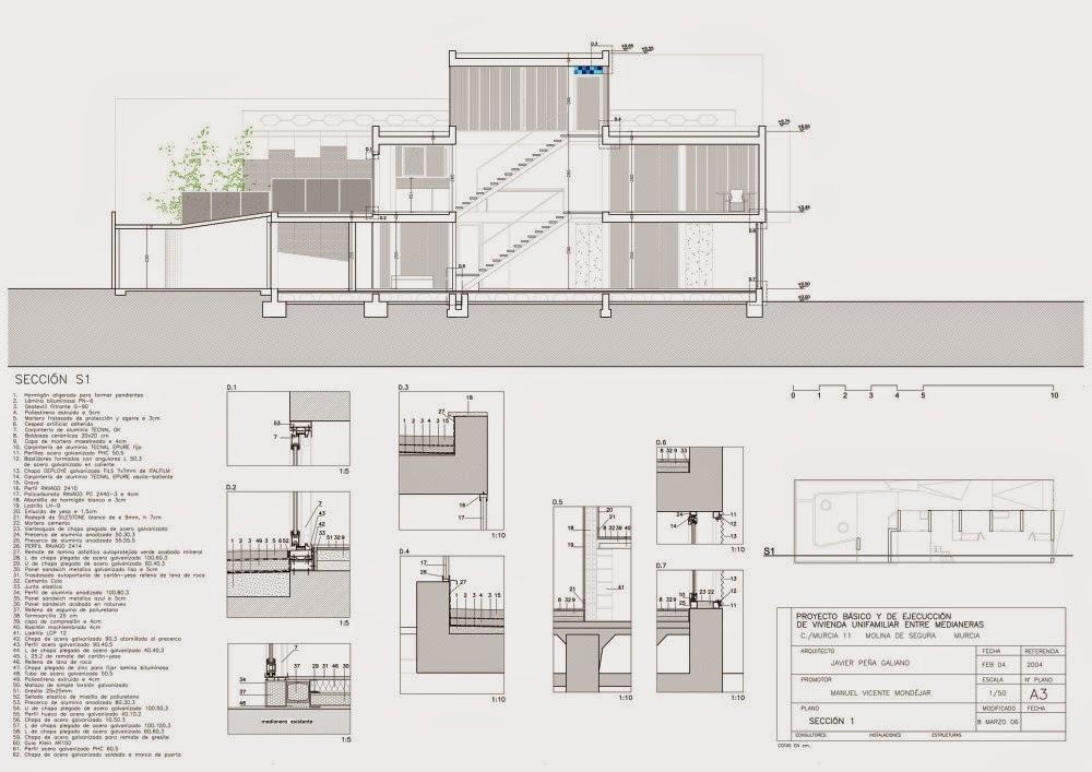 planos de casas con patio central
