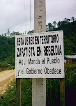Solidaridad con la Rebelión Zapatista. Chiapas