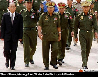 Witt Hmoe (Former staff) – From U Than Shwe to U Thein Sein (articles)