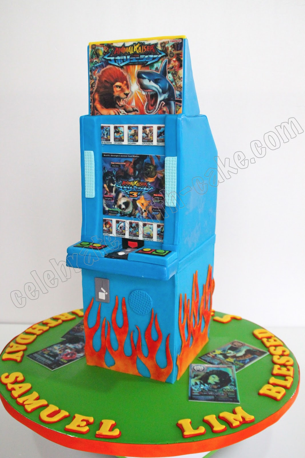 Remarkable Celebrate With Cake Animal Kaiser Cake Funny Birthday Cards Online Drosicarndamsfinfo