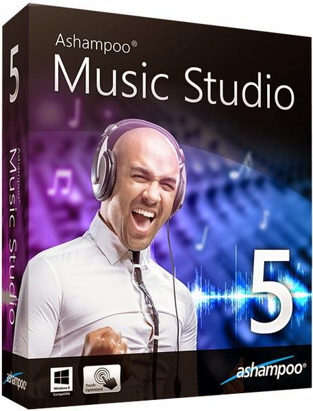 Ashampoo Music Studio 5 + Serial