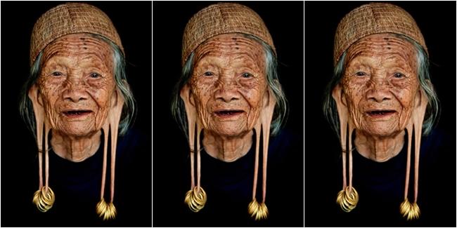 Memanjangkan Telinga Tradisi Suku di Thailand