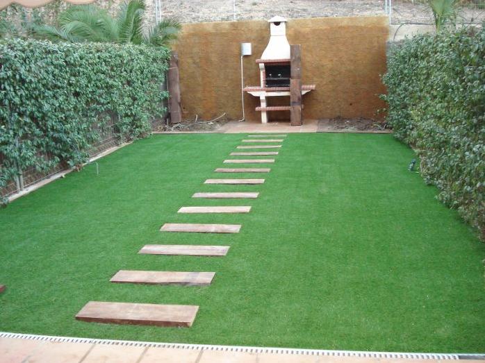 El blog de corvigrass jard n perfecto for Poner piedras en el jardin