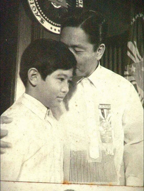 Bongbong and Ferdinand marcos
