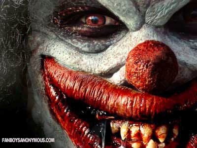 Scary Clown Terror Teeth Blood Nightmare Halloween