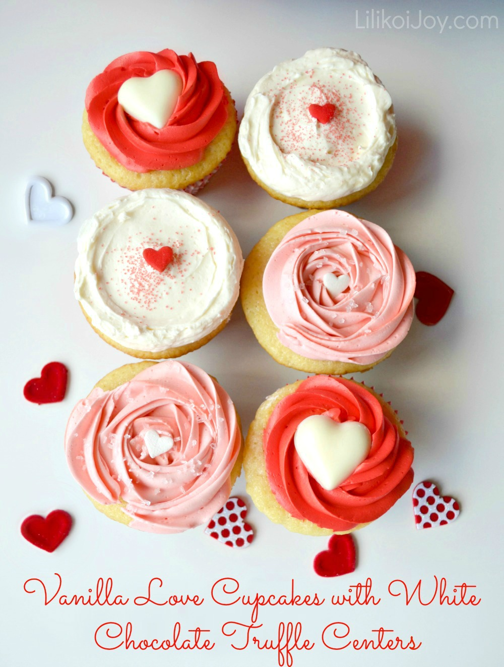 Have The Cake Vanilla Love Cupcakes With White Chocolate Truffle