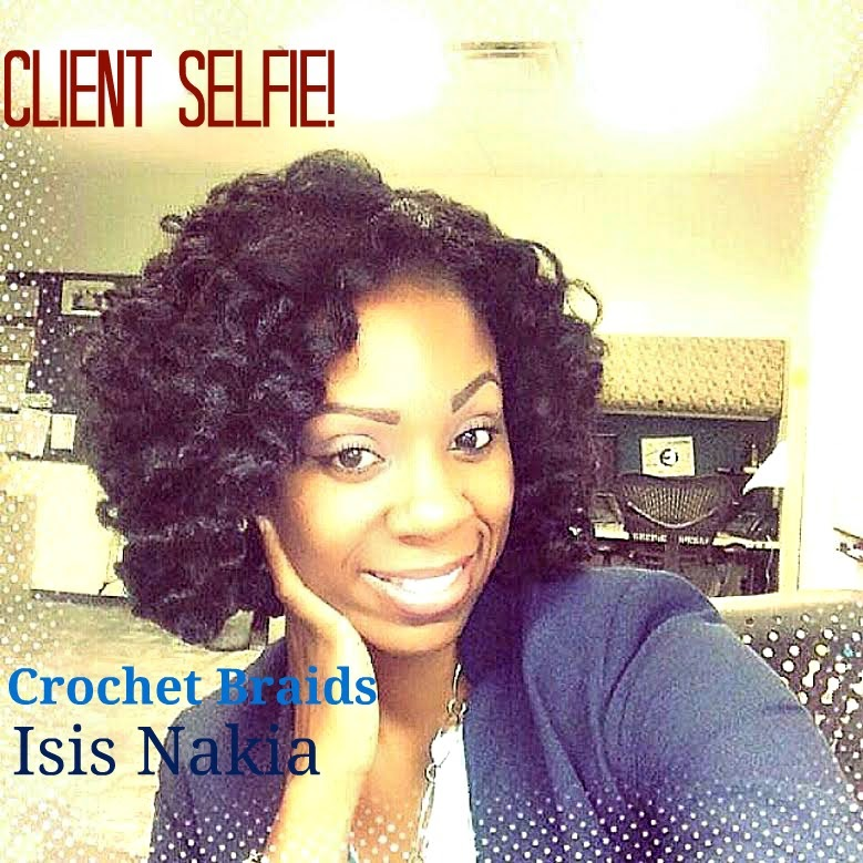 Crochet Braids Salon : How To Crochet Braids W Marley Hair - Braids