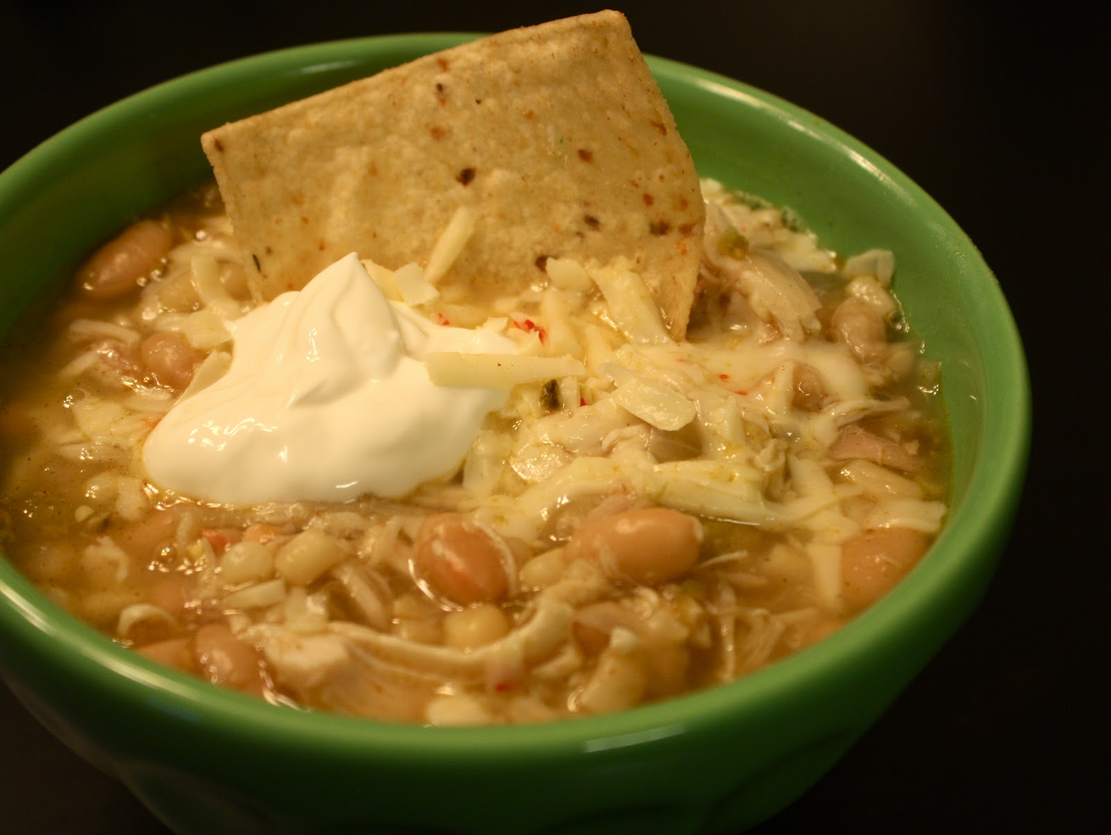 Kuki's Kookbook: White Bean and Chicken Chili
