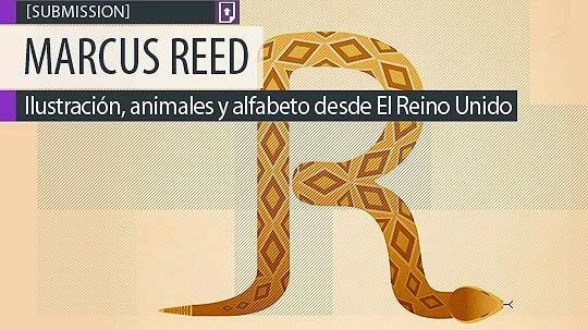 Ilustración, animales y alfabeto de MARCUS REED