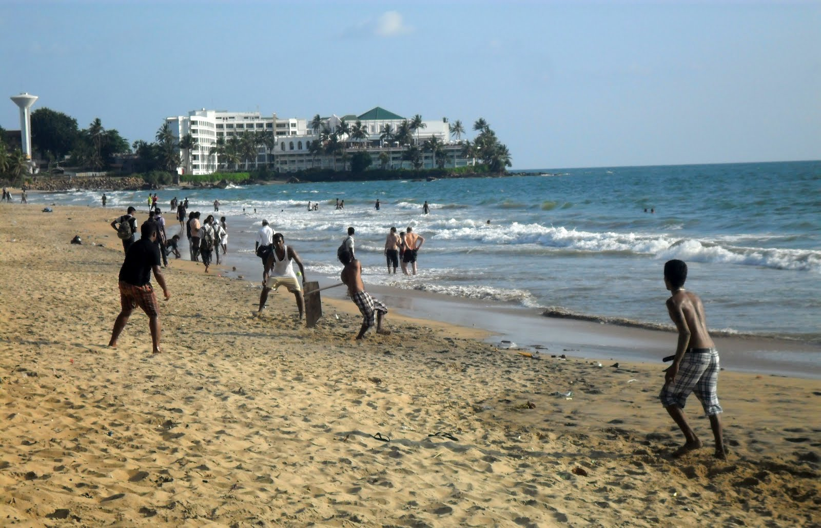 Mount Lavinia Sri Lanka  city pictures gallery : There were some important cricket events going on during my visit ...