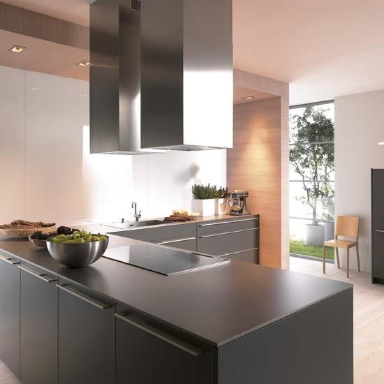 Una cocina gris decoraci n for Decoracion facilisimo cocinas