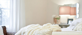 Neutral and serene bedrooms