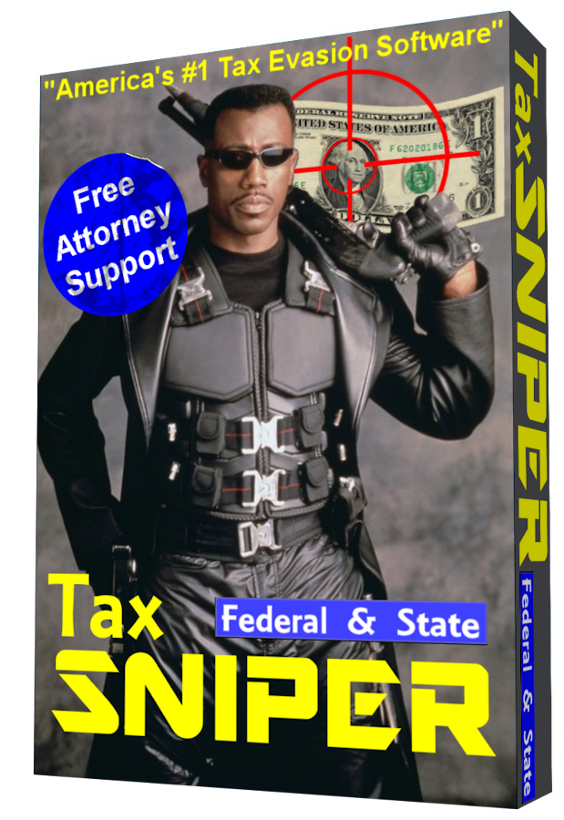 TaxSniper tax software by Wesley Snipes