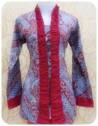 TERBARU! model baju batik kerja kantor