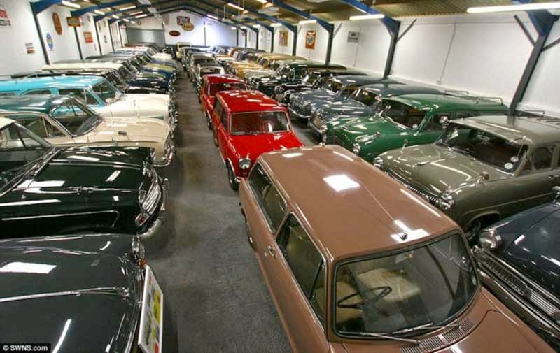 All About Cars Britain S Biggest Private Car Collection For Sale