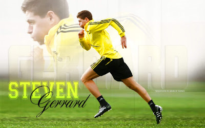 Liverpool Wallpaper - Steven Gerrard