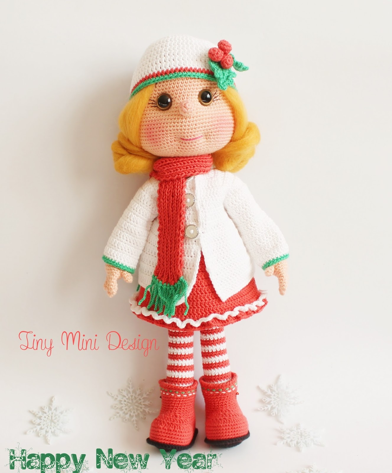 Amigurumi Mini Doll : Amigurumi bebek lily doll knittting