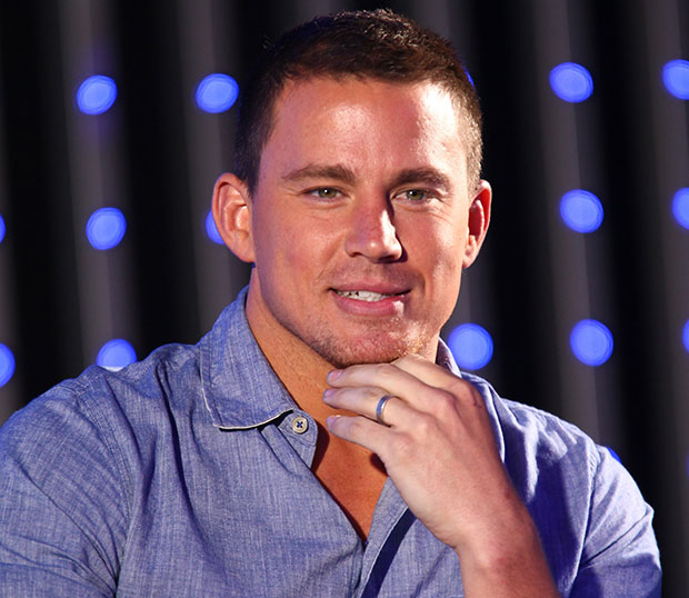 sexiest man alive in 2012 Sexy picture of Channing Tatum