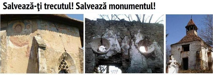 Salvează-ţi trecutul! Salvează monumentul!
