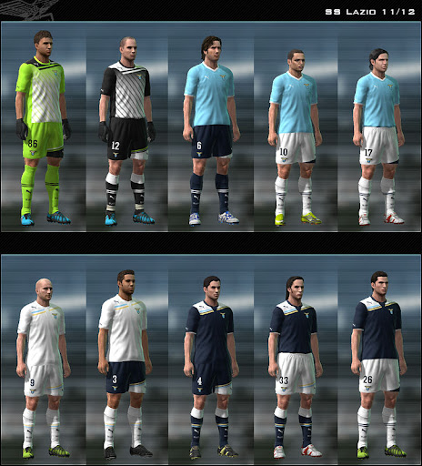 Lazio 11/12 Kit Set by Dark Nero