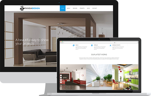 Panda Design – Interior Design Studio Template