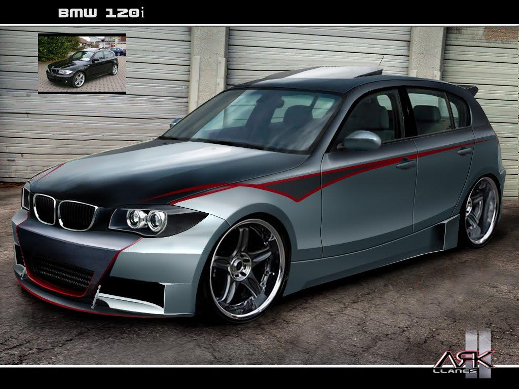 Virtual Tuning Design By ARK Llanes BMW 120i