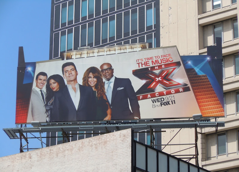X Factor USA remake season 1 billboard
