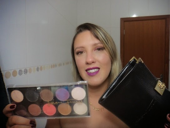 Luciane Ferraes - Kit de Pinceis e Paleta