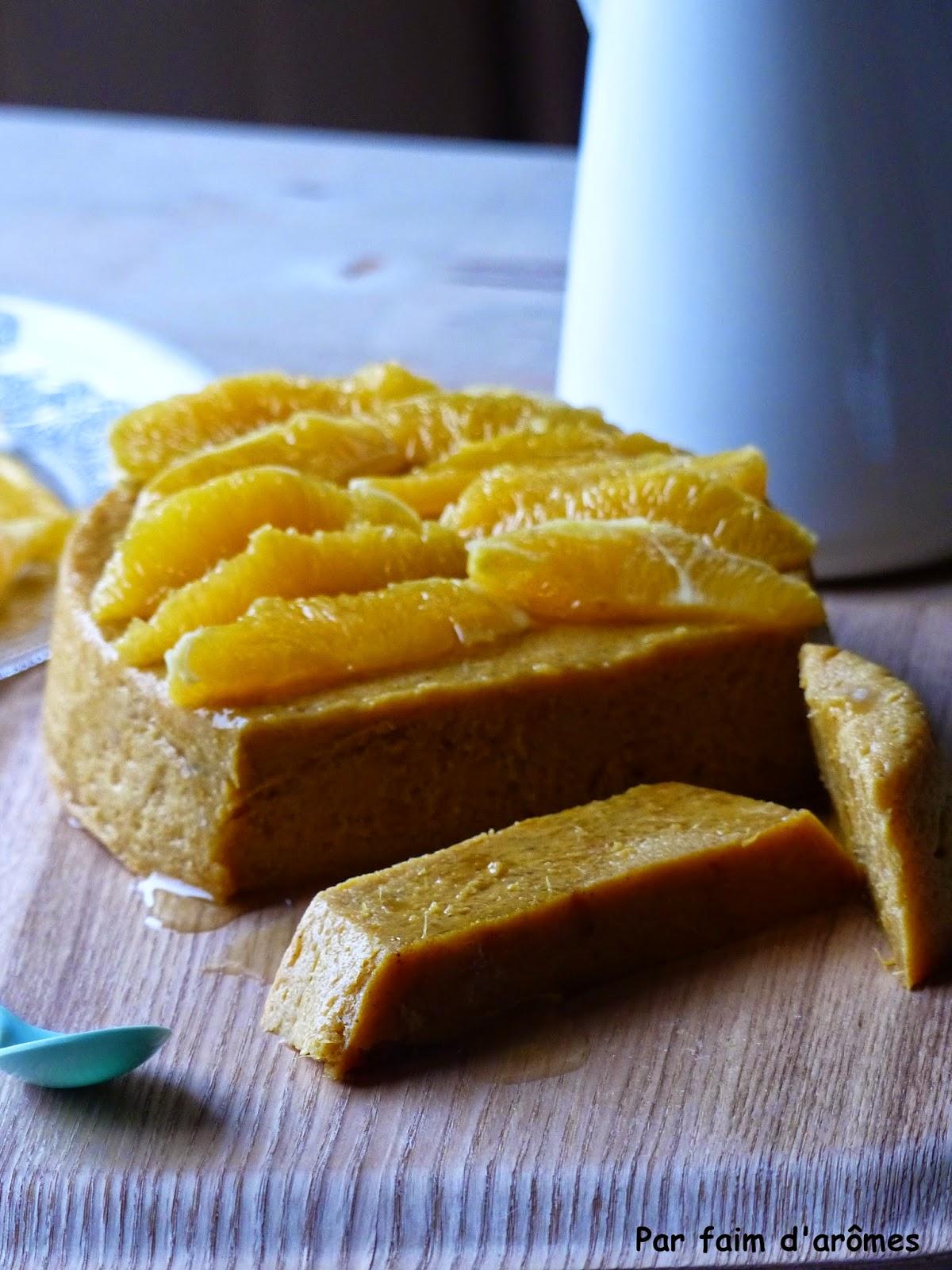 Gâteau de patates douces et oranges