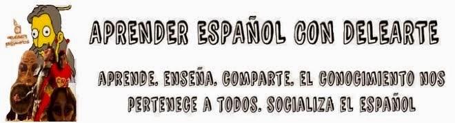 Aprender español con Delearte