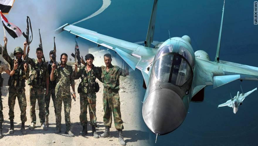 Ρωσικό υπουργείο Άμυνας: «Νεκροί 650 ισλαμιστές της ISIS από τις αεροπορικές μας επιδρομές στην αλ-Μπαμπ»