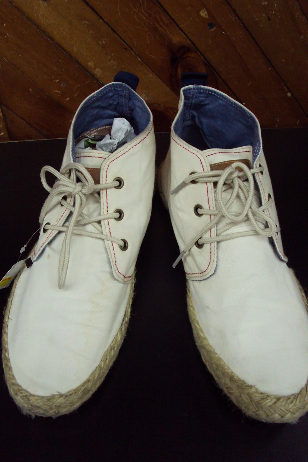 barangan baru terpakai ben sherman casual shoe sold