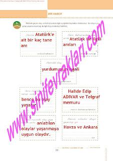 6.Sinif  Turkce Doku Yayinlari Ogrenci Calisma Kitabi Sayfa 39